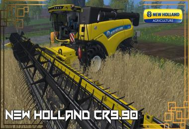 New Holland CR9.90 Yellow v1.0