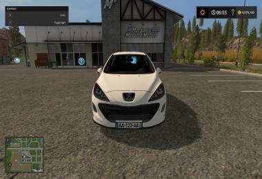 Peugeot 308 White Edition v1.0