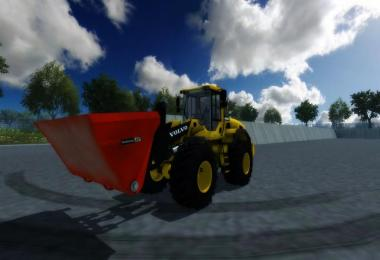 Wheel Loader Universal Shovel 10k Multicolor v1.0