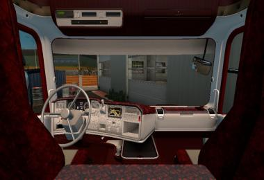 Red interior for scania rjl v1.0
