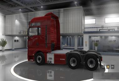 Reworked MAN TGX 6x4 Chassis v1.0