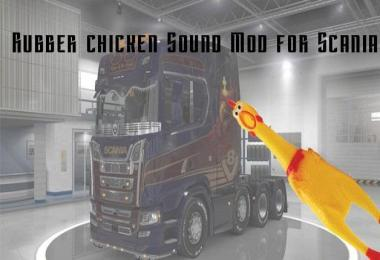 Rubber Chicken Sound Mod v 0.11b for Scania