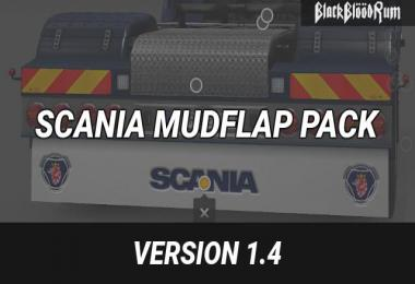 Scania Mudflap Pack v1.4 1.27-1.31.x