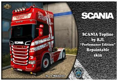 Scania Perfomance Edition Skin for RJL v2.2.2