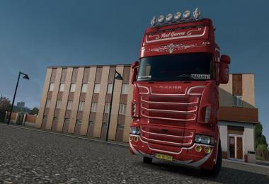 Scania RJL Red Queen Skin 1.31