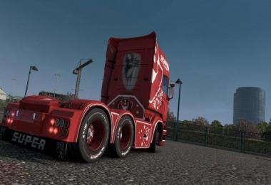 Scania RJL Red Queen Skin v1.0