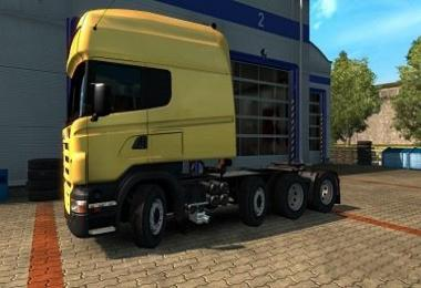 Scania RS fix Correction of rotary axles 1.31.x
