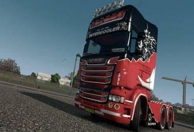 Scania RS RJL Black Warrior skin 1.31