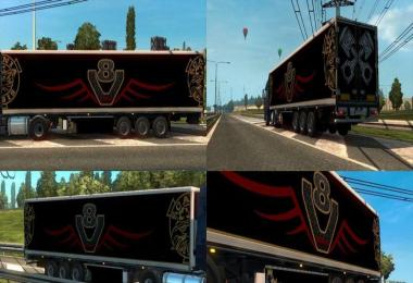 SCANIA VABIS V8 TRAILER v1.0