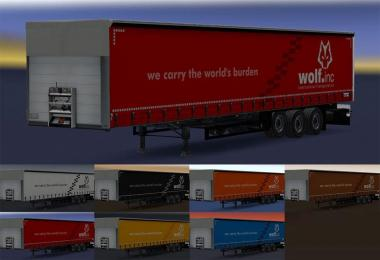 Schmitz Cargobull Color Skins Pack for Wolf Skins v1.0