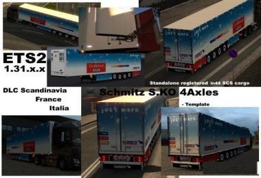 Schmitz Cargobull S.KO 4 axles Reefer v1.2
