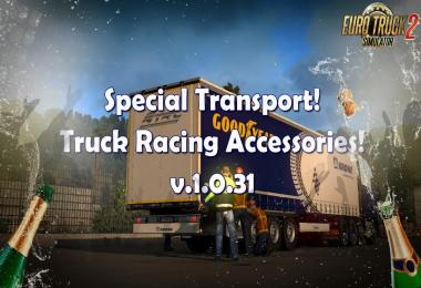 Special Transport! GOODYEAR! Truck Racing Accessories 1.31.x