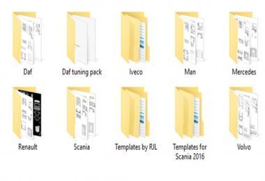 Templates 4096x4096 v1.0