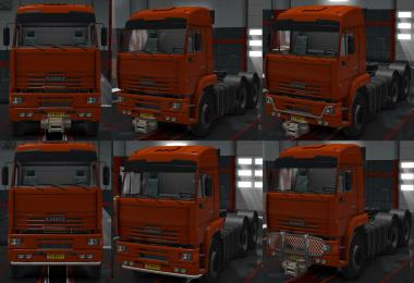 Tuning Addon for Kamaz 54-64-65 1.3.1