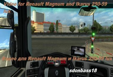 Video for Renault Magnum knox_xss and Ikarus 250-59 lux v1.3