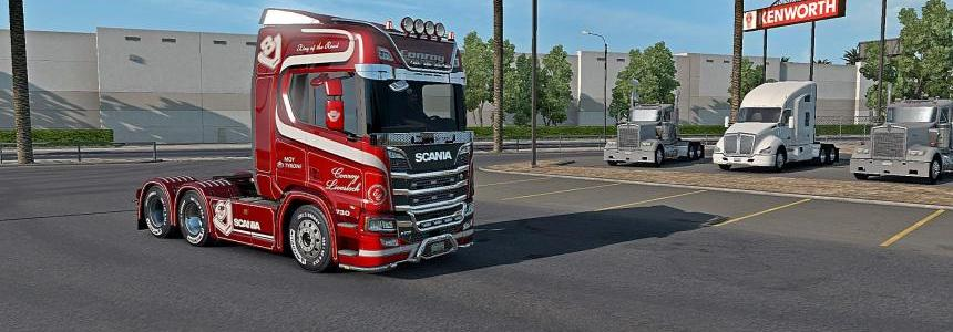 SCS trucks Scania for ATS 1.31.x