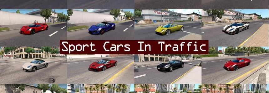 Sport Cars Traffic Pack by TrafficManiac v1.2