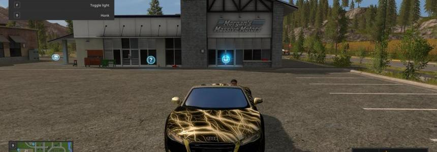 Audi R8 Spyder Electric v1.0