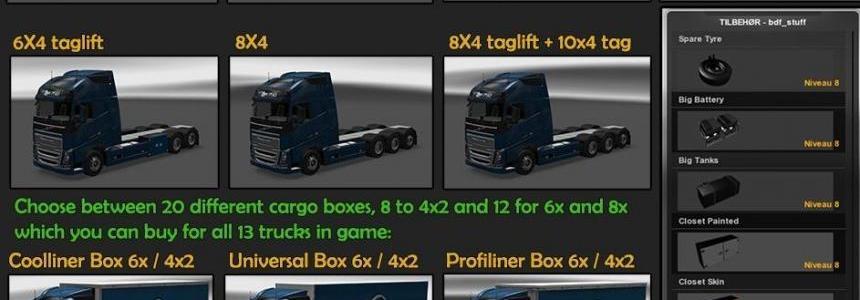BDF Tandem Truck Pack v91.0