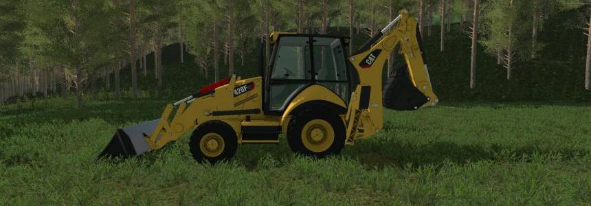 Caterpillar 420F Backhoe v1.0