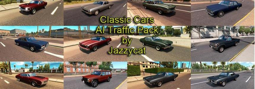 Classic Cars AI Traffic Pack v1.8