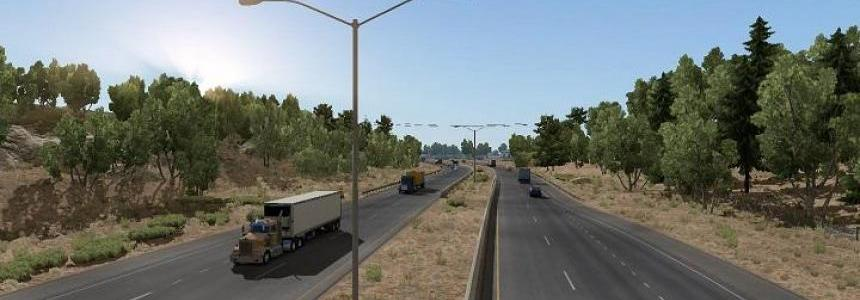 Clear Sky NO HDR weather mod for ATS v1.0