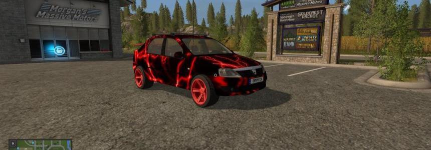 Dacia Logan Red Electric v1.0