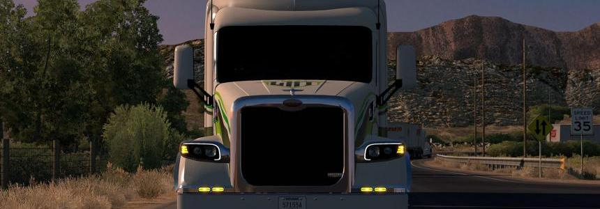 Dashboard + Sound for Peterbilt 567 by GTM 1.31.x