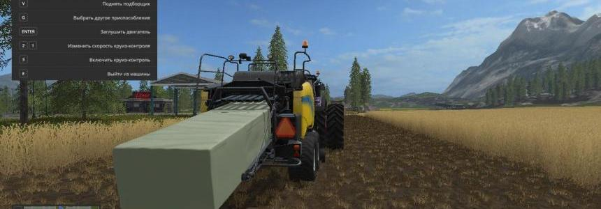 DIRECT SQUARE SILAGE HACKER BALER v1.1