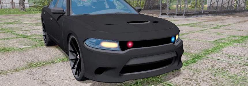 Dodge Charger SRT Hellcat 2015 Unmarked Police v1.0