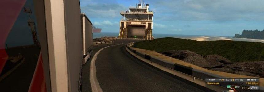 Ferry connection SR v7.2 - PrMod v2.27 - Italy DLC 1.31.x