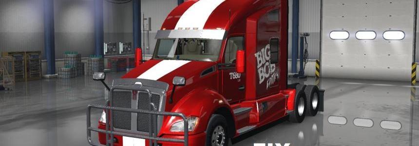 Fix for Kenworth T680 truck from Big Bob version 1.0