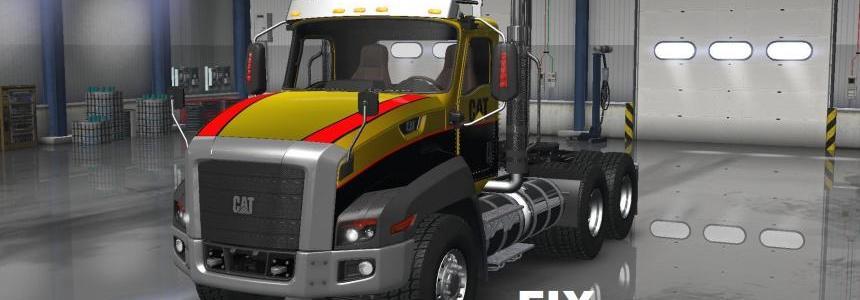 Fix for truck Caterpillar CT660 v1.0