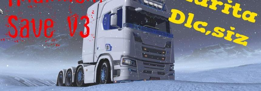 Hilalimsin save v3.0 ets2 Multiplayer 1.31