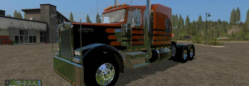 Kenworth W900 with Lift Axle v1.0