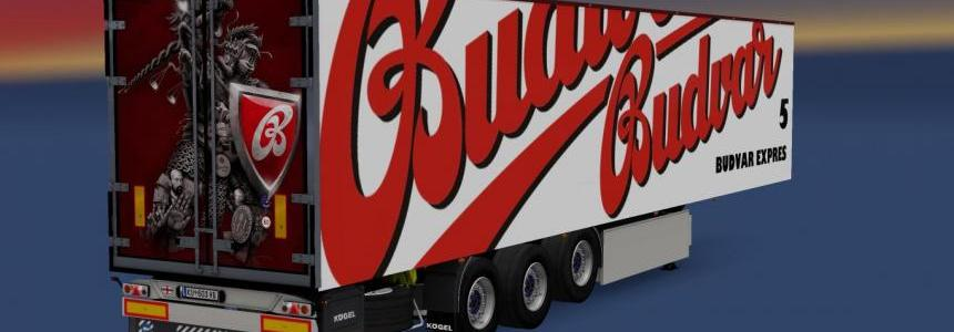 Kogel Trailer Budvar v1.0