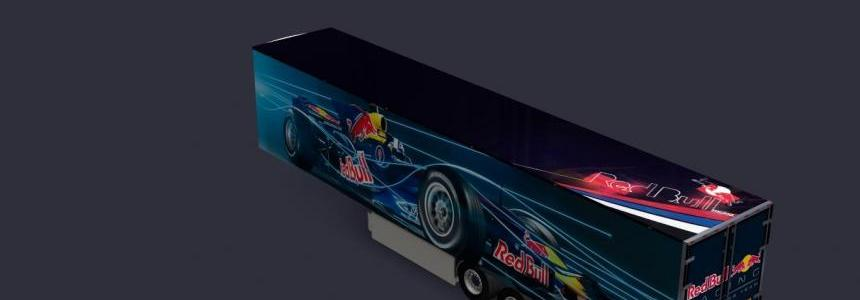 Kogel Trailer F1 Red Bull Racing Formula One Team