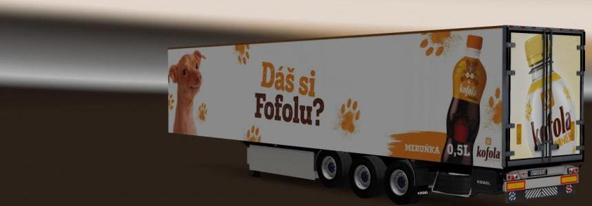 Kogel Trailer Kofola v1.0