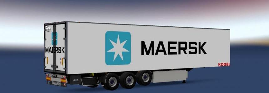 Kogel Trailer Maersk v1.0