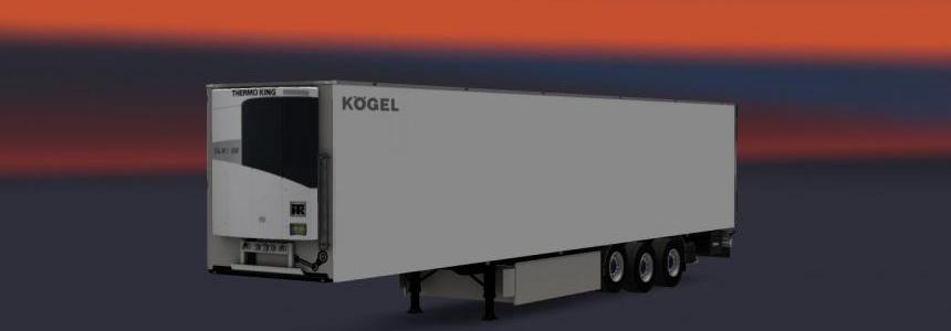 Kogel Trailer White - Multicolor Logo - Grey v1.0
