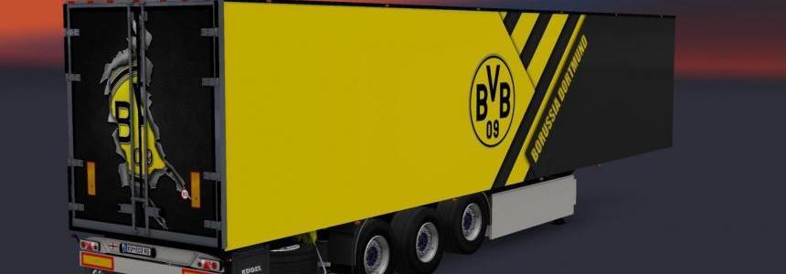 Kogel Trailer BVB 09 Borrusia Dortmund v1.0