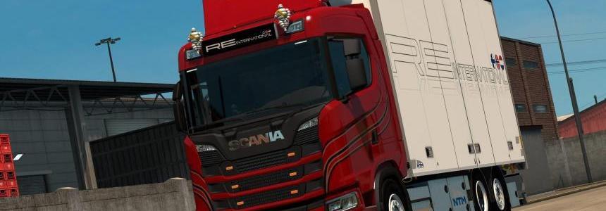 Kraker/NTM Tandem addon for Next Gen Scania v1.0