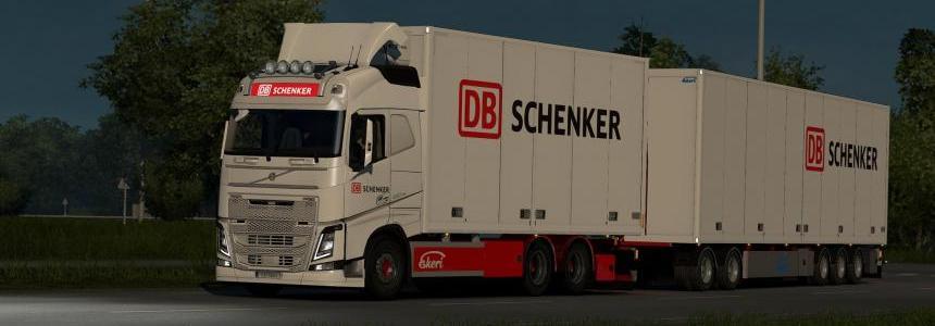 Kraker/NTM/Ekeri Addon for Eugene's Volvo FH & FH16 2012 v1.0