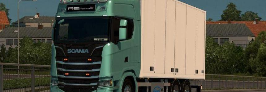 Kraker/NTM/Ekeri Tandem addon for Next Gen Scania 1.31.x