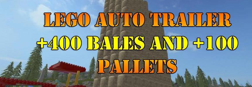 Lego 400 Bale 100 pallets Auto Loader v1.0