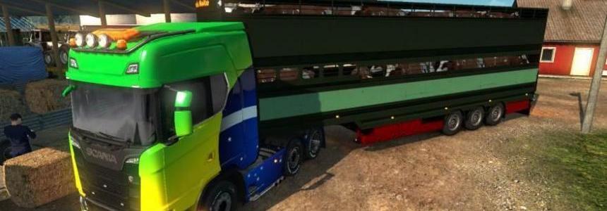 Livestock trailer v1.0