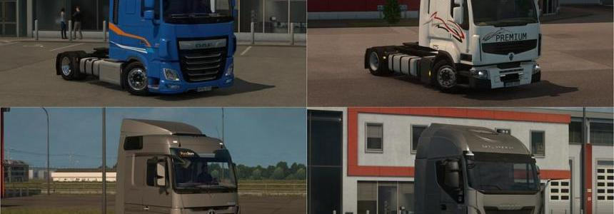 Low Deck Chassis Adds for Schumis Trucks v1.8 1.31.x