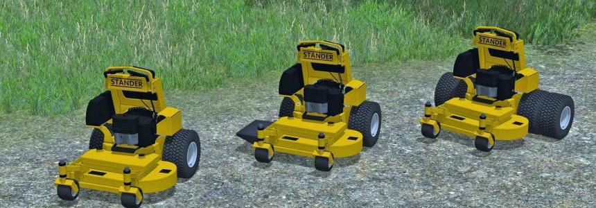 Mower Pack With Wright Staners v1.0