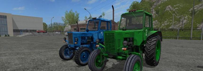 MTZ-80 green and blue v1.0 By Nikita197