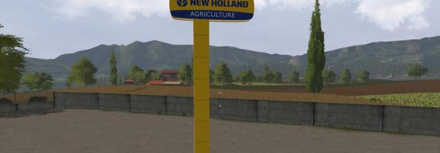 New Holland Dealer Signboard (Prefab) v1.0.0.0